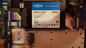 SSD Crucial upgrade iServices